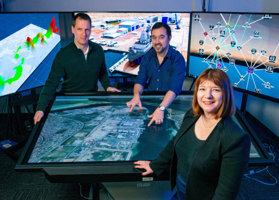 Dr Wolfgang Mayer, Senior Lecturer UniSA, Dr Andrew Cunningham, Lecturer UniSA and Dr Anastasia Kuusk, BAE Systems are members of the research team.